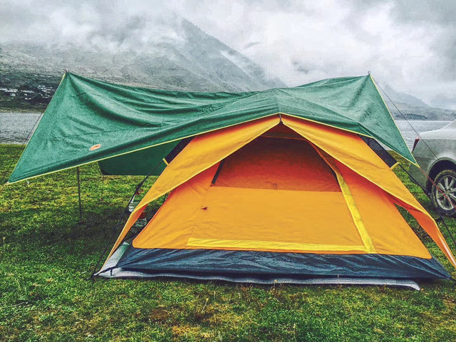 tent-leisure-grass-camp-campsite picture material