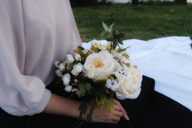 wedding-bride-bouquet-groom-flower picture material