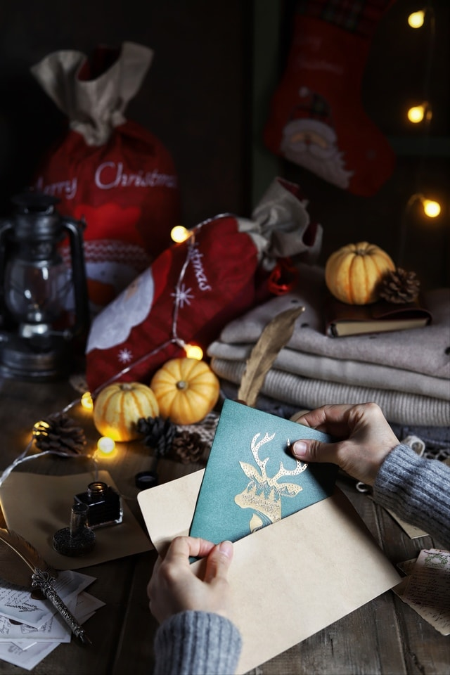 christmas-dark-tone-still-life-photography-still-life-calm picture material