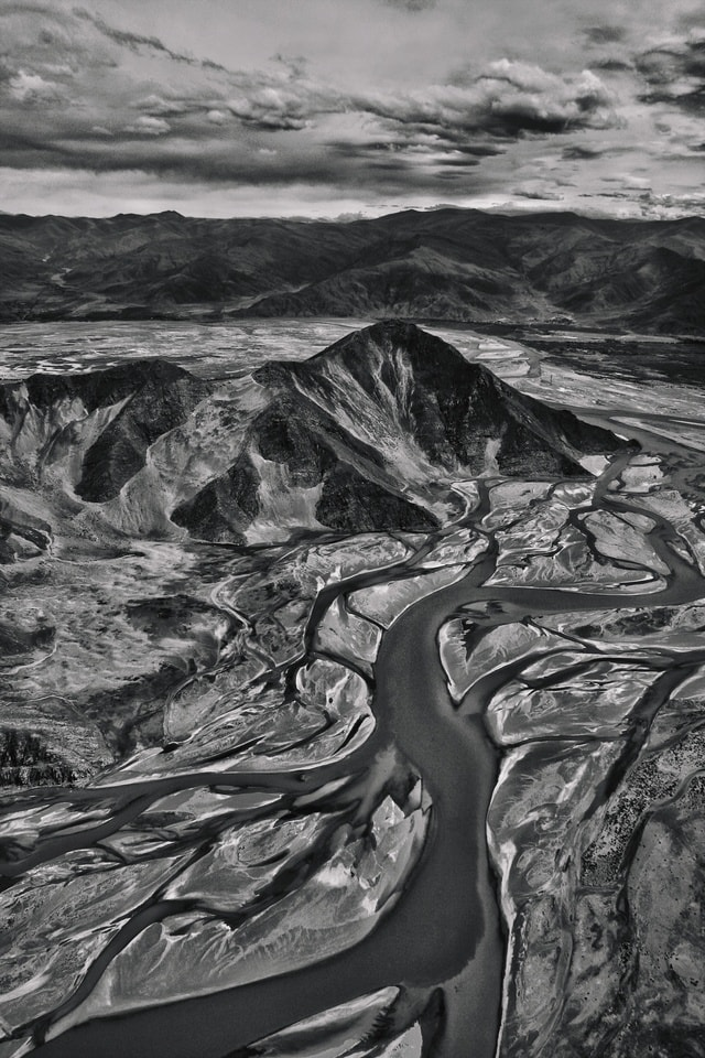 water-black-and-white-geological-phenomenon-monochrome-photography-landscape 图片素材