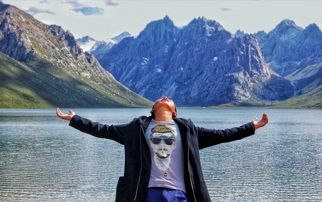 portrait-mountainous-landforms-mountain-fjord-wilderness 图片素材