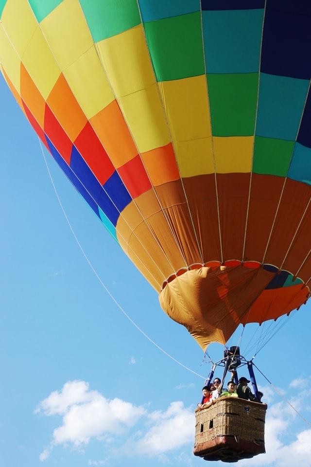 sky-balloon-hot-air-balloon-air-airship picture material
