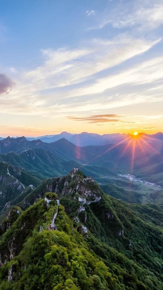 mountainous-landforms-mountain-sky-nature-mountain-range 图片素材