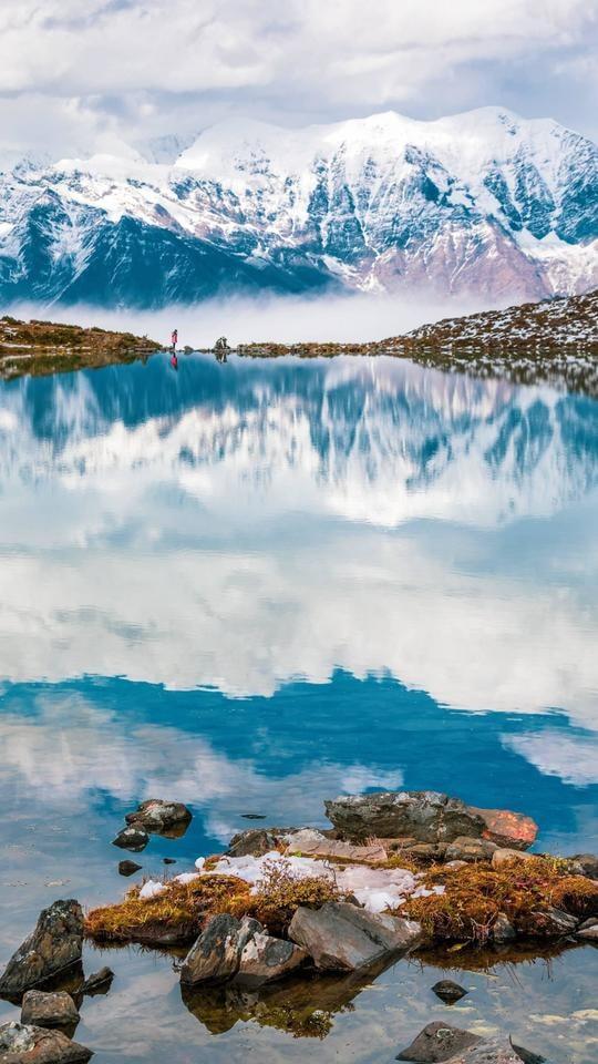 nature-sky-natural-landscape-mountain-mountainous-landforms 图片素材