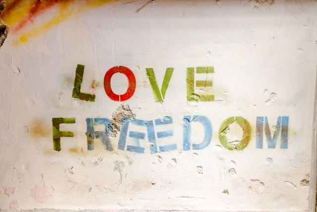 written-with-a-wall-of-love-write-a-wall-with-love-and-freedom picture material