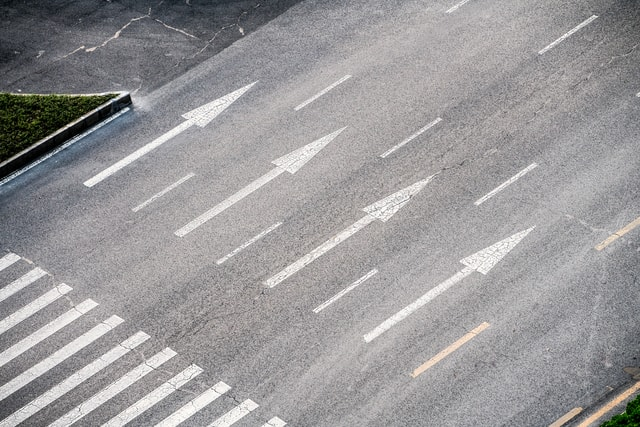 the-bustling-highway-has-no-one-the-busy-highway-was-empty picture material