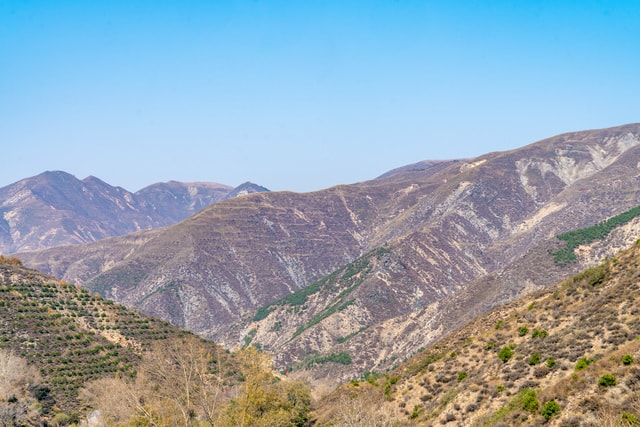 mountains-of-yanmenguan-china-mountain-of-yanmen-pass-china picture material