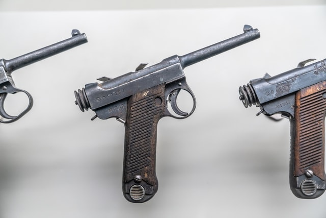 an-old-fashioned-pistol-used-during-china picture material