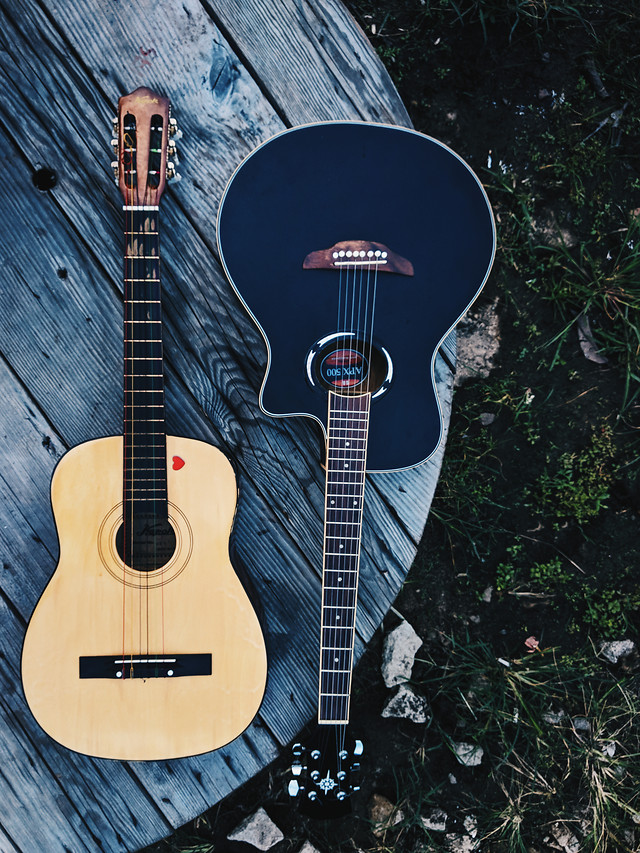 guitar-instrument-music-wood-acoustic picture material