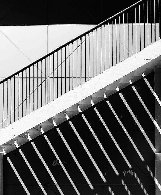 architecture-monochrome-steel-angle-window picture material