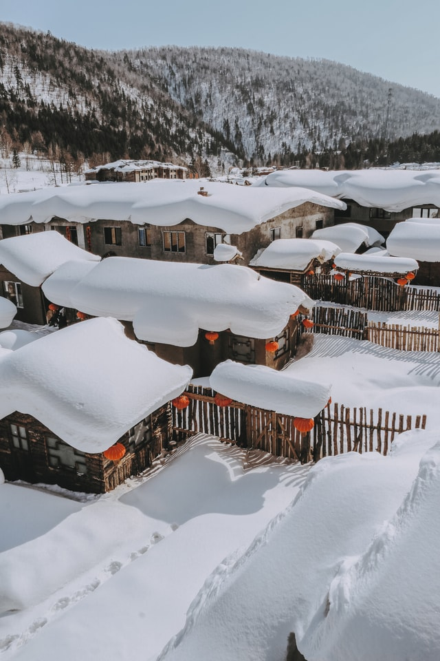 snow-winter-freezing-ice-geological-phenomenon 图片素材