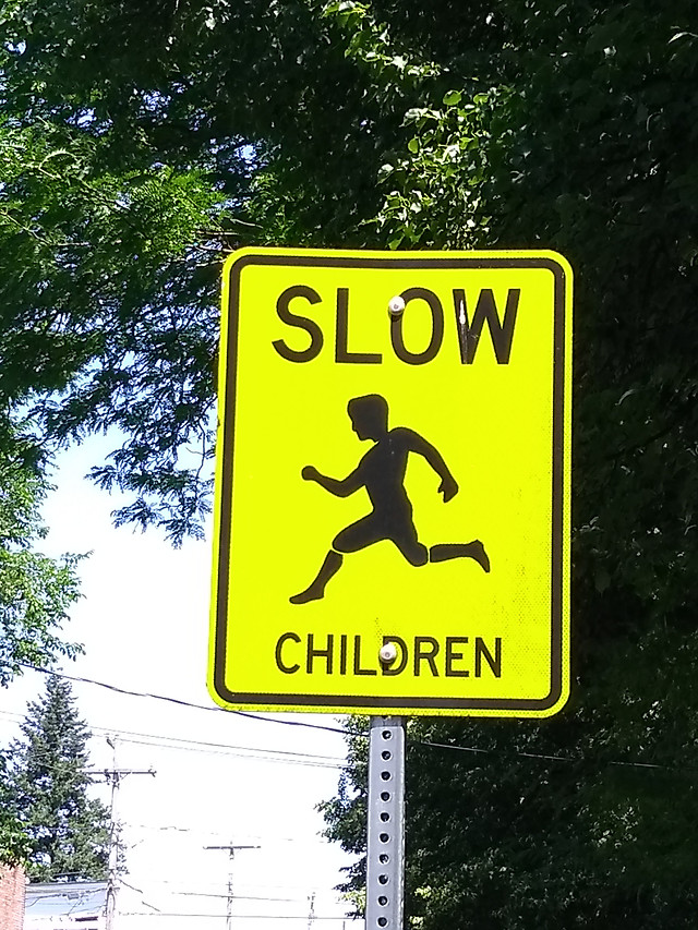 be-careful-of-children picture material