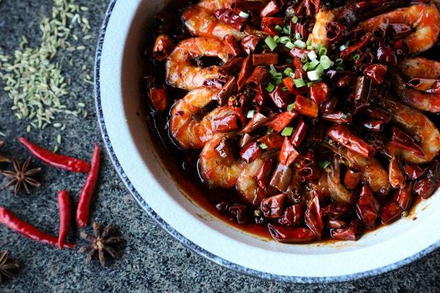 spicy-shrimp-dish-shrimp-food-seafood 图片素材