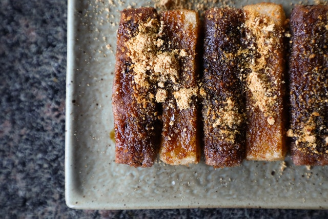 brown-sugar-treacle-tart-recipe 图片素材