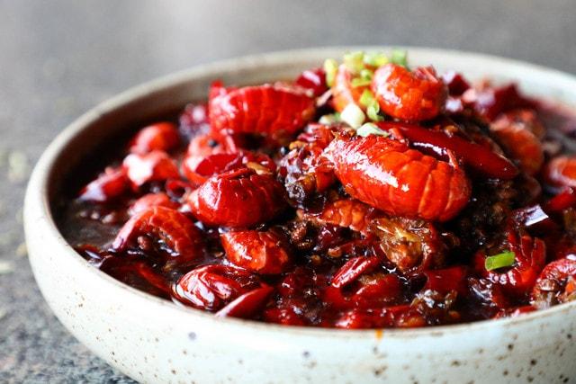 lobster-tail-dish-food-recipe-strawberries 图片素材