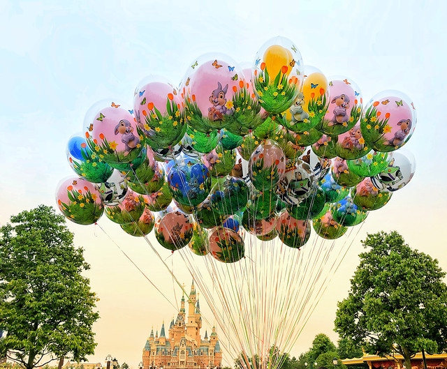 balloon-sky-summer-helium-festival picture material