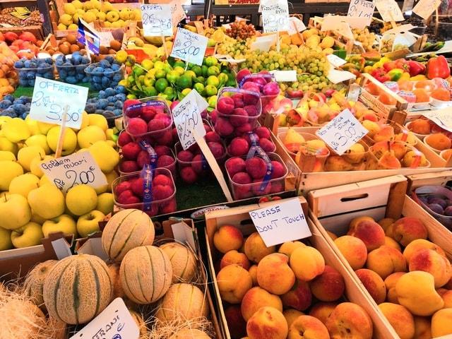 marketplace-fruit-market-food-stall 图片素材