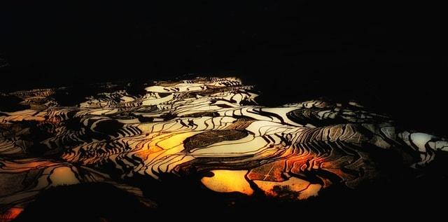 water-geological-phenomenon-landscape-illustration-art 图片素材