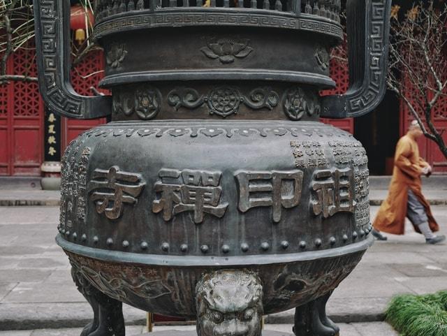 incense-burner-temple-ancient-metal-carving picture material