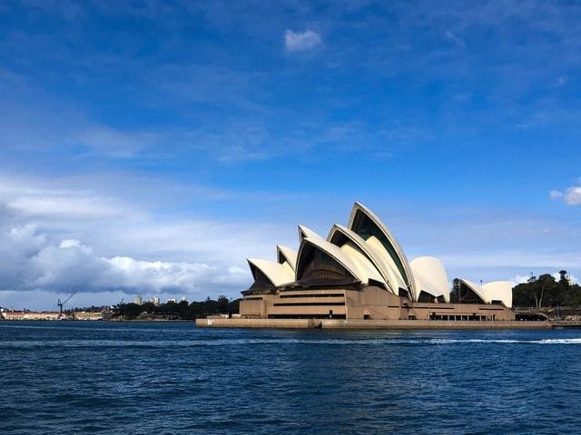 sydney-opera-house-sydney-scenery-opera-house-landmark-blue picture material