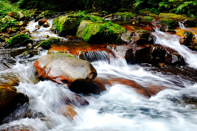 waterfall-water-river-stream-fall picture material