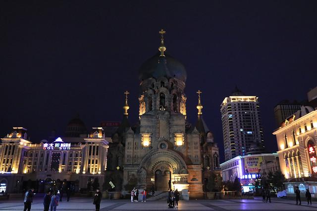 哈尔滨索菲亚教堂 picture material