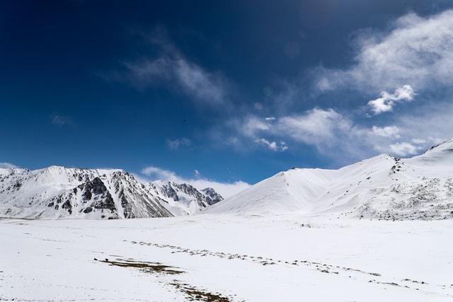 natural-mountainous-landforms-mountain-snow-sky 图片素材