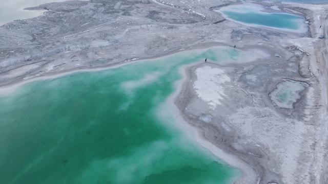 geological-phenomenon-water-estuary-glacial-lake-sea 图片素材