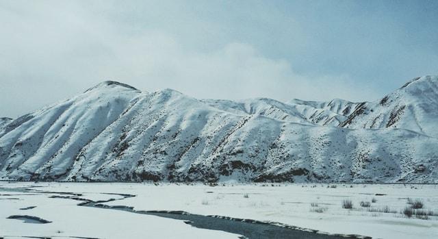 glacial-landform-polar-ice-cap-arctic-ice-glacier 图片素材