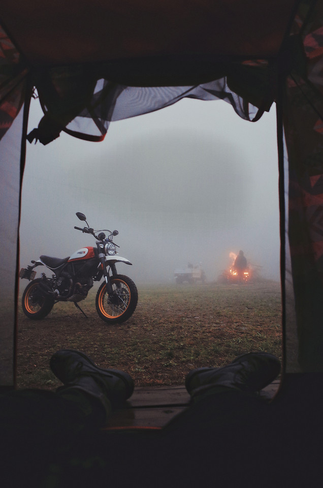 camping picture material