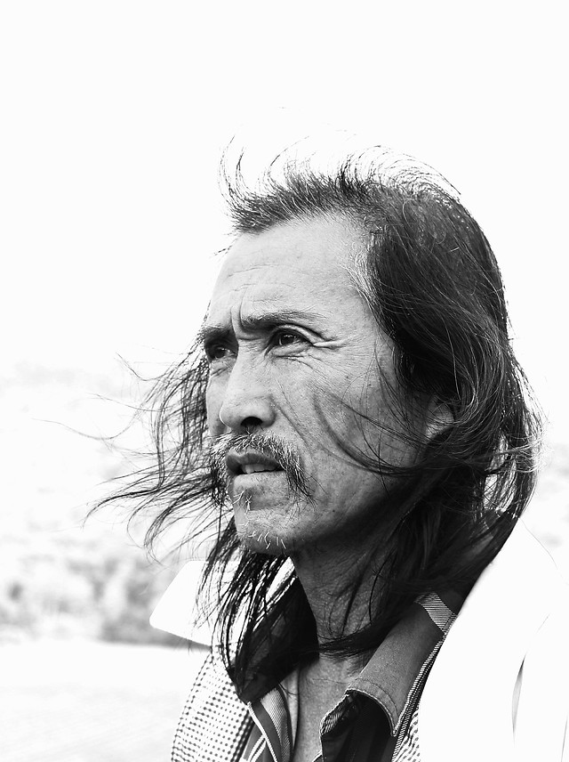 portrait-people-monochrome-man-one picture material