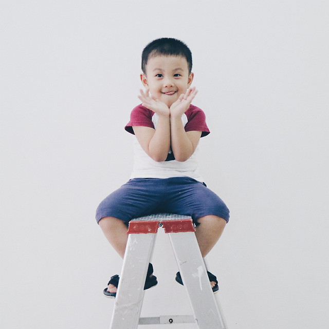 child-fun-woman-cute-standing picture material