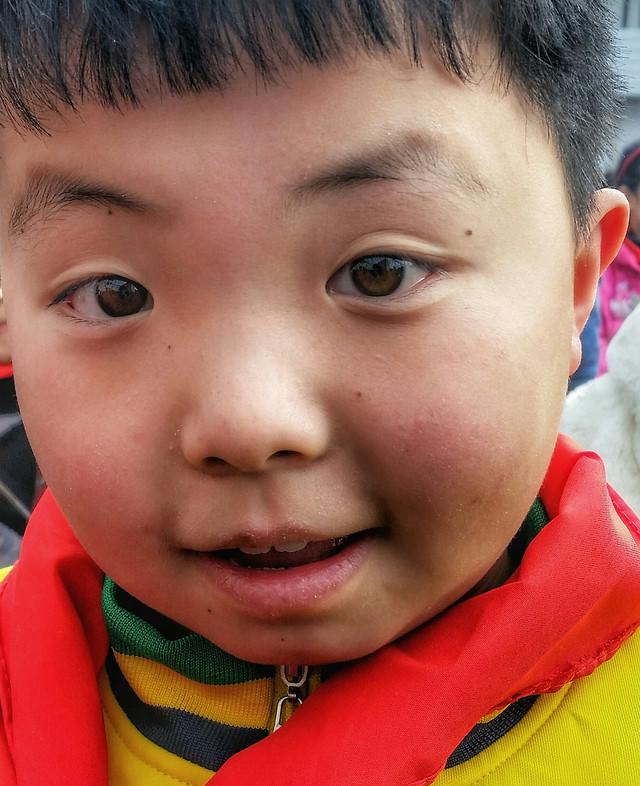 child-son-portrait-cute-little picture material