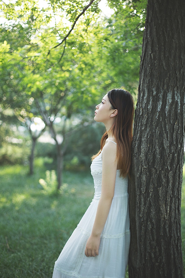 nature-woman-wedding-outdoors-girl picture material