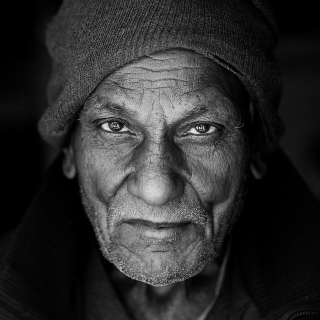 portrait-people-elderly-monochrome-man picture material