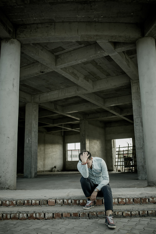 people-one-adult-abandoned-photograph picture material