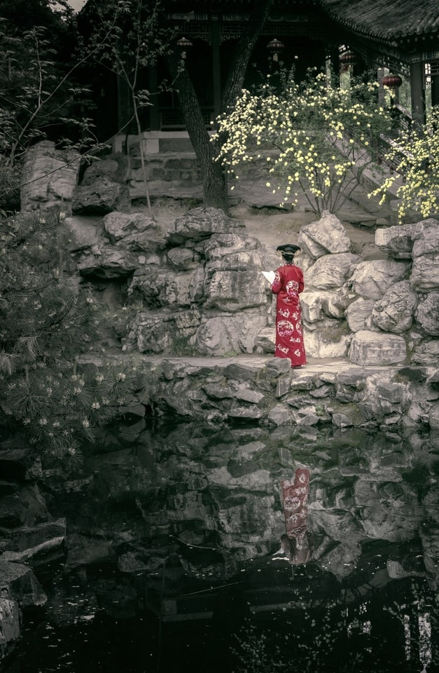 beauty-water-red-wall-organism picture material