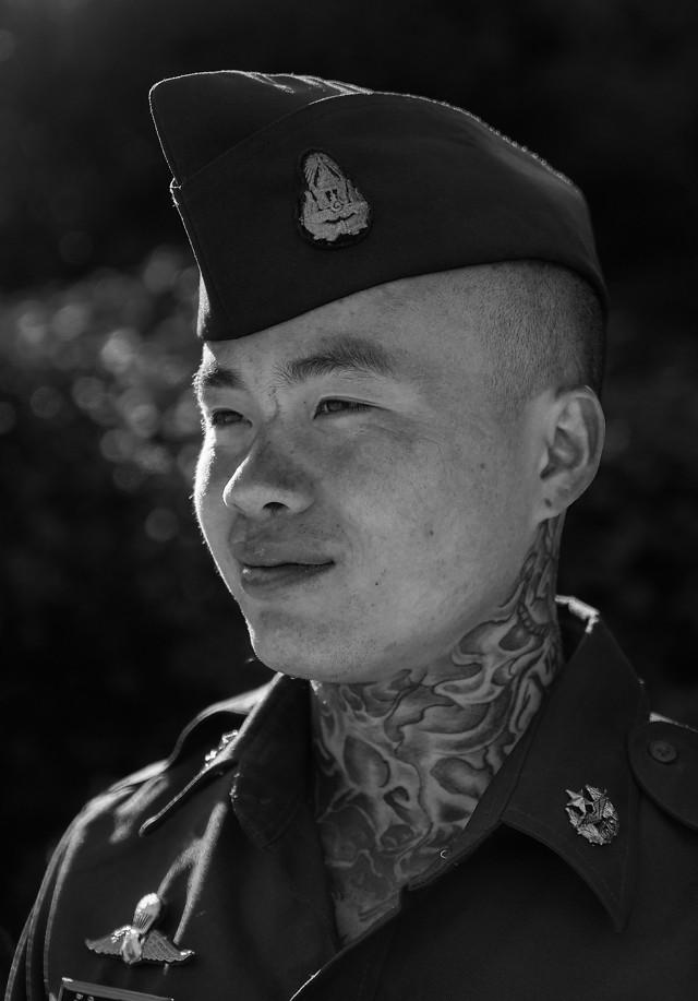 people-portrait-man-uniform-military picture material