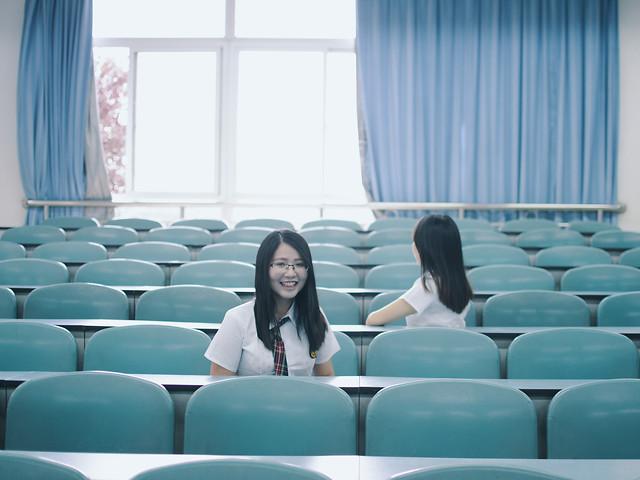 seat-chair-blue-auditorium-indoors picture material