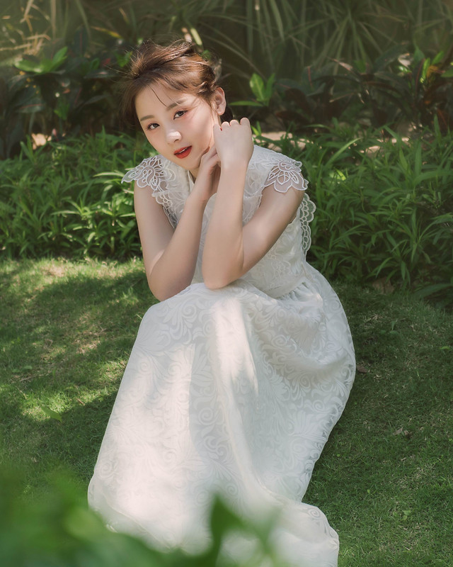 wedding-nature-dress-outdoors-summer picture material