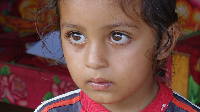 child-portrait-people-girl-face picture material