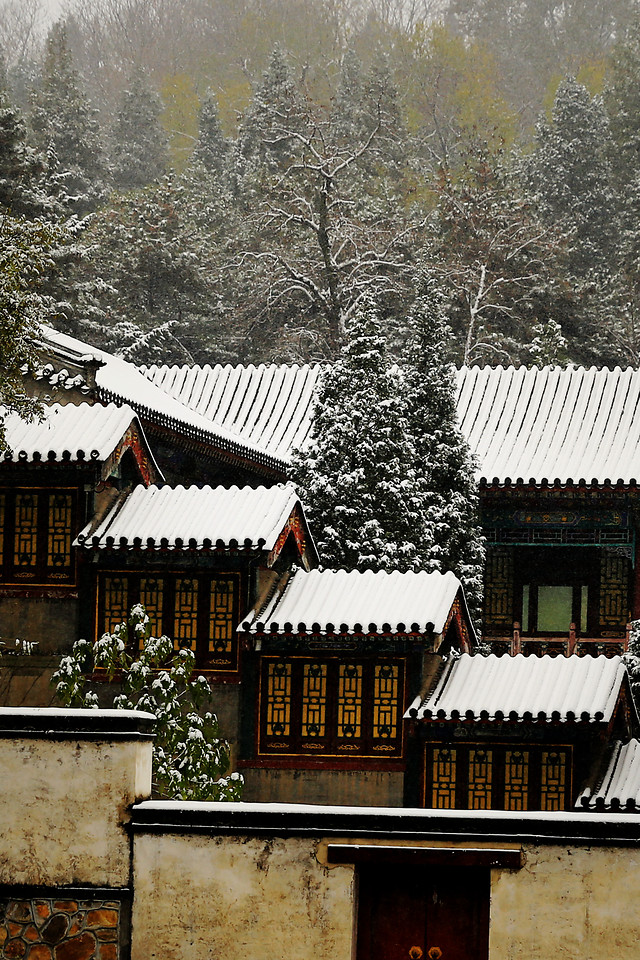 no-person-architecture-house-building-snow 图片素材