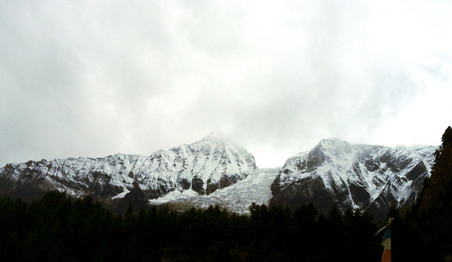 snow-mountain-winter-ice-landscape picture material
