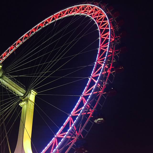 ferris-wheel-no-person-circus-carnival-entertainment picture material