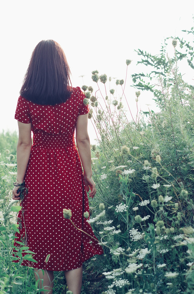 dress-clothing-woman-one-summer picture material