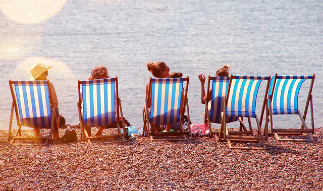 chair-beach-no-person-relaxation-travel picture material