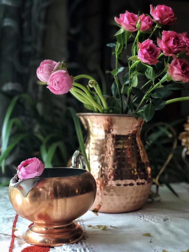flower-pot-vase-no-person-decoration picture material