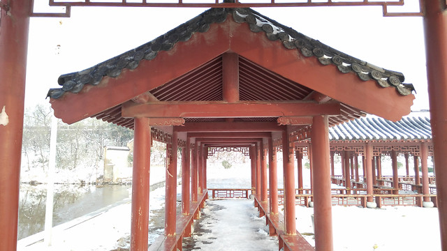 architecture-no-person-chinese-architecture-wood-house picture material