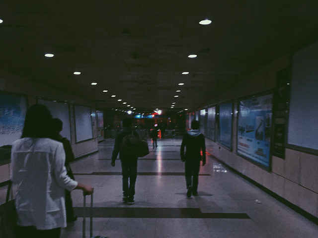 airport-subway-system-people-city-street picture material