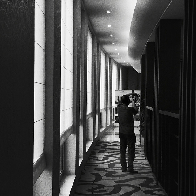 monochrome-people-street-shadow-indoors picture material